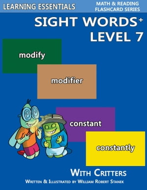 Sight Words Plus Level 7: Sight Words Flash Cards with Critters for Grade 3 & Up