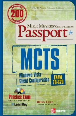 Book MCTS Windows Vista Client Configuration Passport (Exam 70-620) by Brian Culp