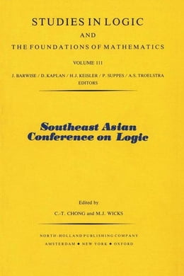 Book Southeast Asian Conference on Logic by Chong, C.-T.