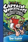 Captain Underpants and the Preposterous Plight of the Purple Potty People: Color Edition (Captain Underpants #8) Cover Image