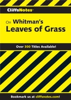CliffsNotes on Whitman's Leaves of Grass by V. A. Shahane