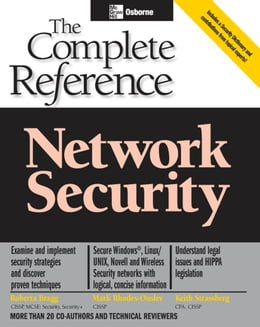 Book Network Security: The Complete Reference by Roberta Bragg
