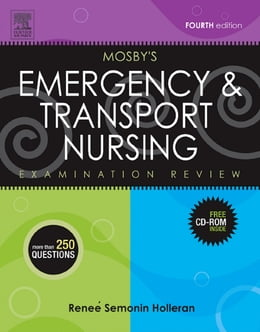 Book Mosby's Emergency & Transport Nursing Examination Review by Renee S. Holleran