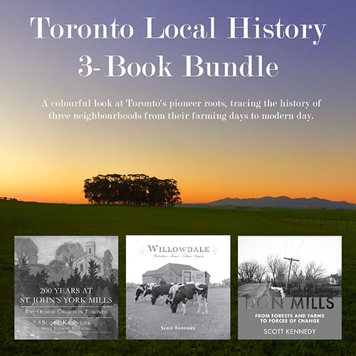 Toronto Local History 3-Book Bundle