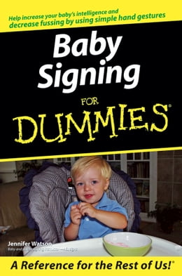 Book Baby Signing For Dummies by Jennifer Watson