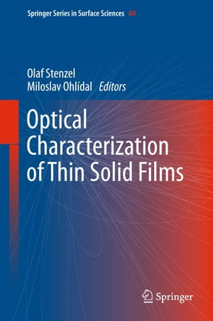 Optical Characterization of Thin Solid Films