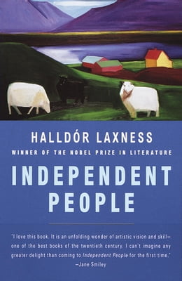 Book Independent People by Halldor Laxness
