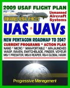 2009-2047 U.S. Air Force Unmanned Aircraft Systems (UAS) and UAV Flight Plan - Current Program, Action Plan, Nano, Micro, Man-Portable, Air-Launched,  by Progressive Management
