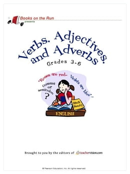 Book Verbs, Adjectives, and Adverbs, Grades 3-6 by TeacherVision.com,