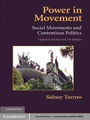 Power in Movement Social Movements and Contentious Politics