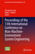 Proceedings of the 13th International Conference on Man-Machine-Environment System Engineering 44daa9a8-e85d-4072-ab49-386971278fb3