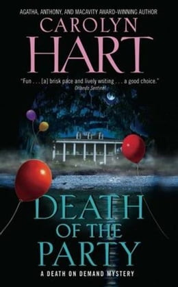 Book Death of the Party by Carolyn Hart