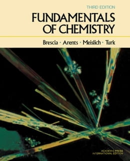 Book Fundamentals of Chemistry: A Modern Introduction by Brescia, Frank