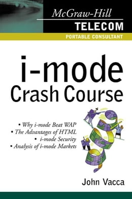 Book I-Mode Crash Course by Vacca, John