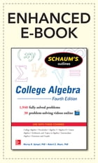 Schaum's Outline of College Algebra, 4th Edition by Robert E. Moyer