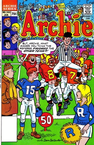 Archie #345 by Archie Superstars