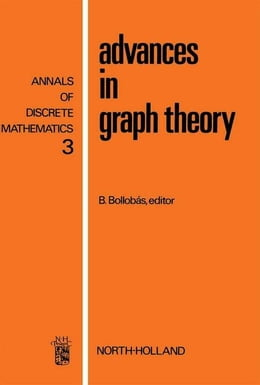 Book Advances in graph theory by Bollobás, B.
