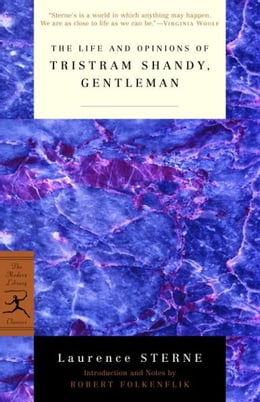 Book The Life and Opinions of Tristram Shandy, Gentleman by Laurence Sterne