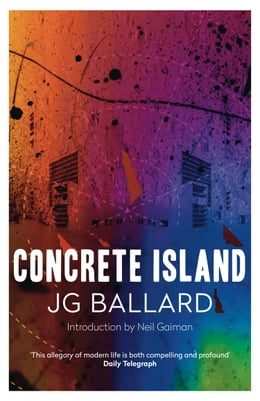 Book Concrete Island by J. G. Ballard