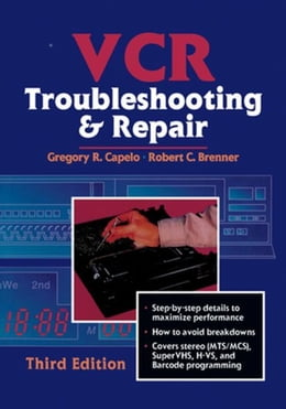 Book VCR Troubleshooting and Repair by Brenner, Robert
