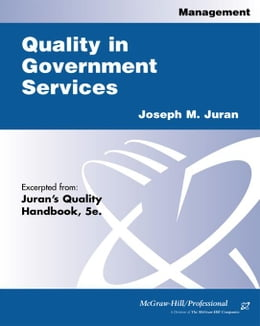 Book Quality in Government Services by Juran, Joseph M