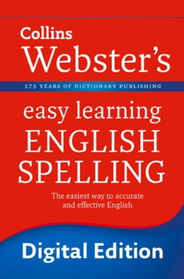 Book English Spelling (Collins Webster's Easy Learning) by Collins