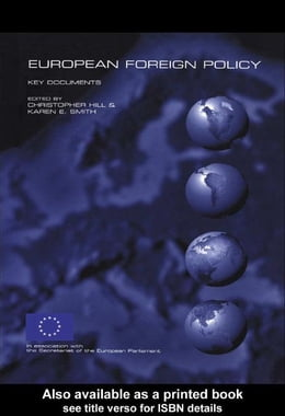 Book European Foreign Policy by Hill, Christopher