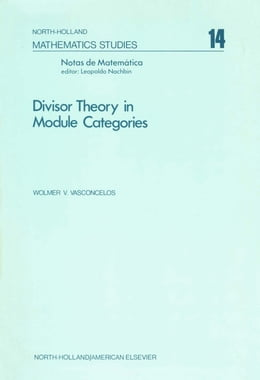 Book Divisor theory in module categories by Nachbin, Leopoldo