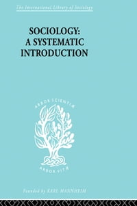 Sociology: A Systematic Introduction