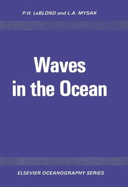 Book Waves in the Ocean by LeBlond, P.H.