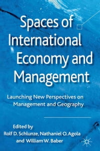 Spaces of International Economy and Management: Launching New Perspectives on Management and…