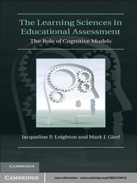 The Learning Sciences in Educational Assessment: The Role of Cognitive Models