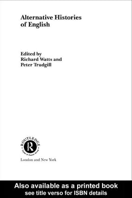 Book Alternative Histories of English by Watts, Richard