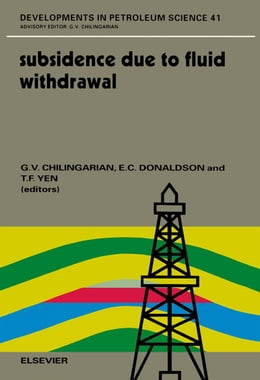 Book Subsidence due to Fluid Withdrawal by Donaldson, E.C.