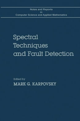 Book Spectral techniques and fault detection by Karpovsky, Marg