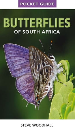 Book Pocket Guide Butterflies of South Africa by Steve Woodhall