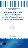Advanced Materials and Technologies for Micro/Nano-Devices, Sensors and Actuators (Material Science Technology) photo