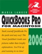 QuickBooks Pro 2006 for Macintosh: Visual QuickStart Guide by Maria Langer
