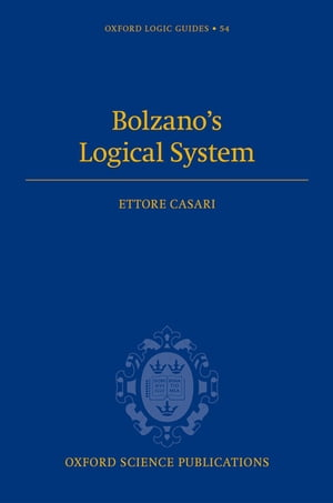 Bolzano's Logical System