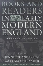 Books and Readers in Early Modern England: Material Studies