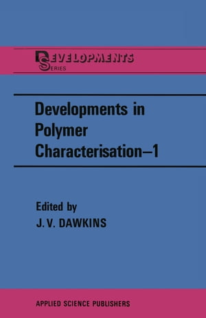 Developments in Polymer Characterisation—1