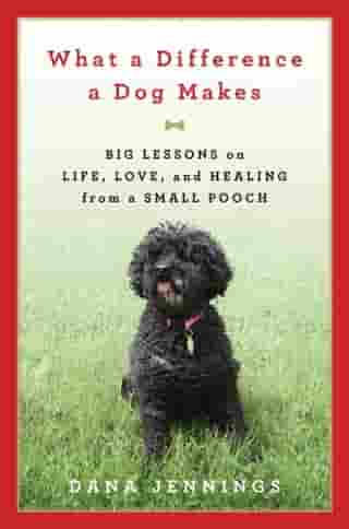 What a Difference a Dog Makes: Big Lessons on Life, Love and Healing from a Small Pooch by Dana Jennings