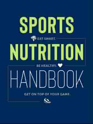 Sports Nutrition Handbook: Eat Smart. Be Healthy. Get On Top of Your Game. by Justyna Mizera