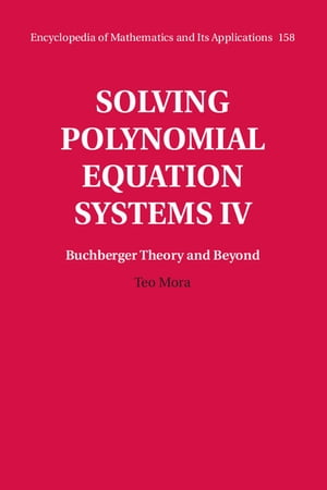 Solving Polynomial Equation Systems IV: Volume 4,  Buchberger Theory and Beyond