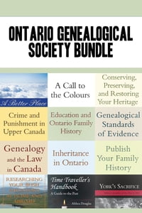 Ontario Genealogical Society 12-Book Bundle: Conserving, Preserving, and Restoring Your Heritage…