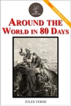 Around the World in 80 Days - (FREE Audiobook Included!) by Jules Verne