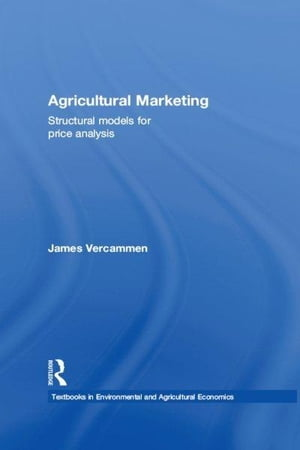 Agricultural Marketing Structural Models for Price Analysis