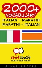 2000+ Vocabulary Italian - Marathi by Gilad Soffer