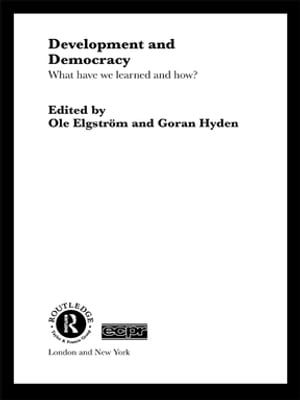 Development and Democracy What Have We Learned and How?
