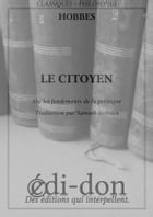 Le Citoyen by Hobbes